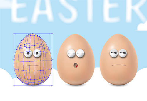 Easter eggs character design