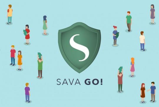 Sava Go! mobile app prototype