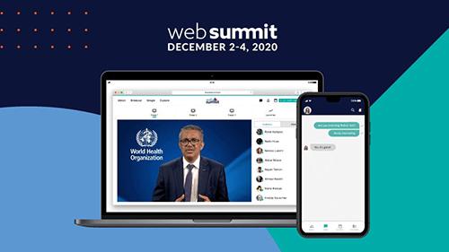 Attending online Web Summit